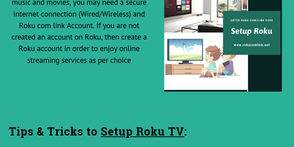 How to Setup Roku TV | Link your Device | Roku.Com/Link Activation