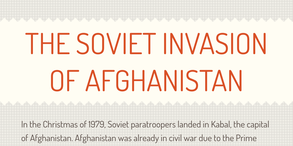 the soviet invasion of afghanistan Central intelligence agency, directorate of intelligence, the soviet invasion of afghanistan: five years after, may 1985 (cia declassification release.