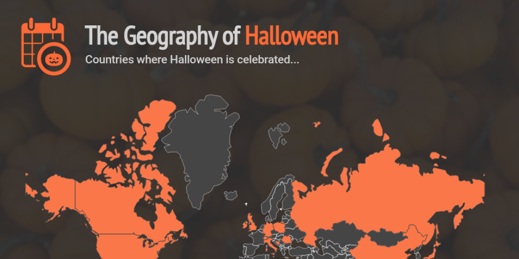 Geography of Halloween