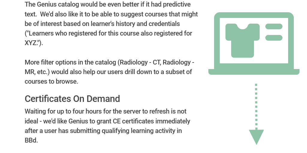 2018 BBd Leadership Summit Radiology by Stacy Johnson - Infogram