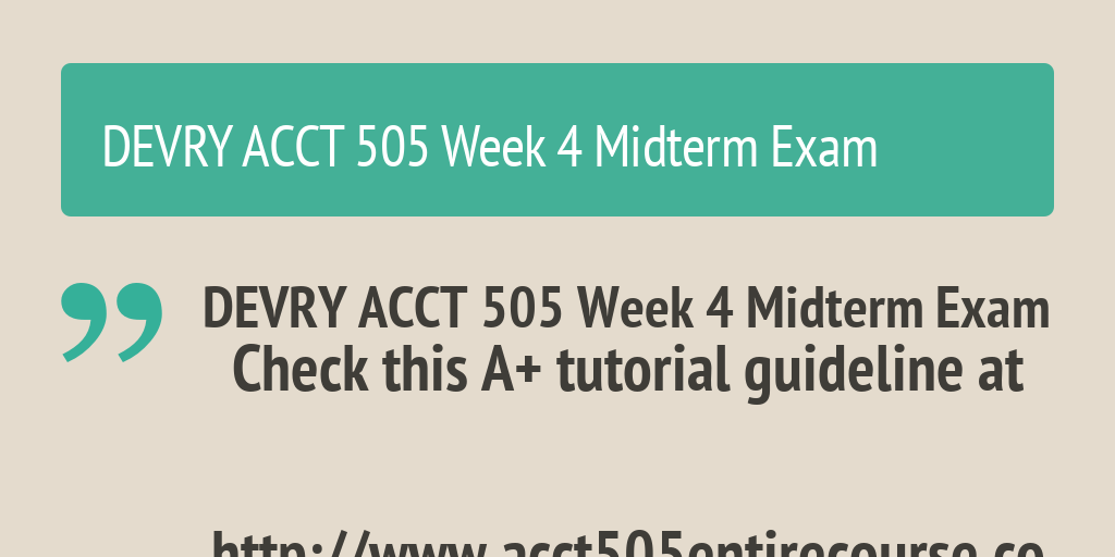 mis 535 week 4 midterm exam Mis 535 week 4 midterm exam 2 visit: wwwoaassignmentcom 1 tco a: list and describe the four information systems serving each of the major functional areas of a business 2 tco b: the text describes michael porter's view of the internet as somewhat ne.