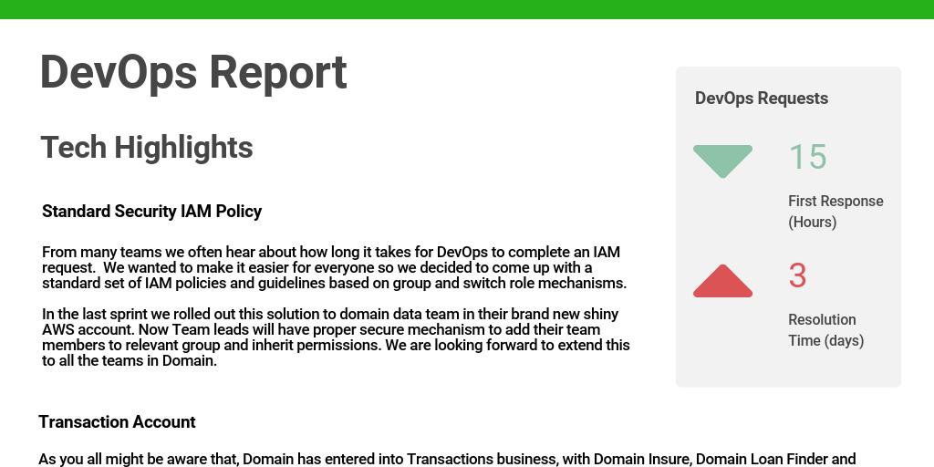 DevOps by Danielle Fox - Infogram