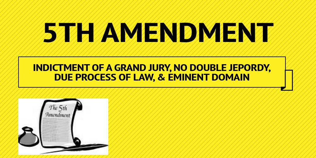 5th amendment by anthony8771 infogram