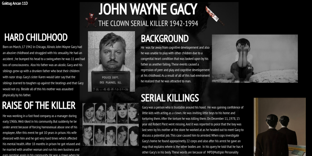 choice theory on john wayne gacy