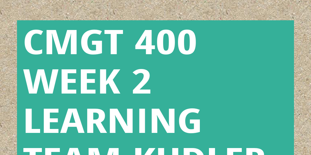 cmgt 400 week 3 learning team kudler fine foods it securi Cmgt/400 (new) cmgt/410 (new) cmgt/430 (new) cmgt/431 (new)  cmgt/445  learning team instructions:  security: describe the security  measures to protect the customer's  includes kudler fine foods network  diagram and entity-relationship  week 3 assignment: frequent shopper  program, part ii.