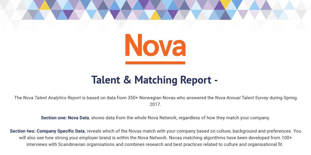 Talent & Matching Report - Orkla Norway by Analytics Team - Infogram