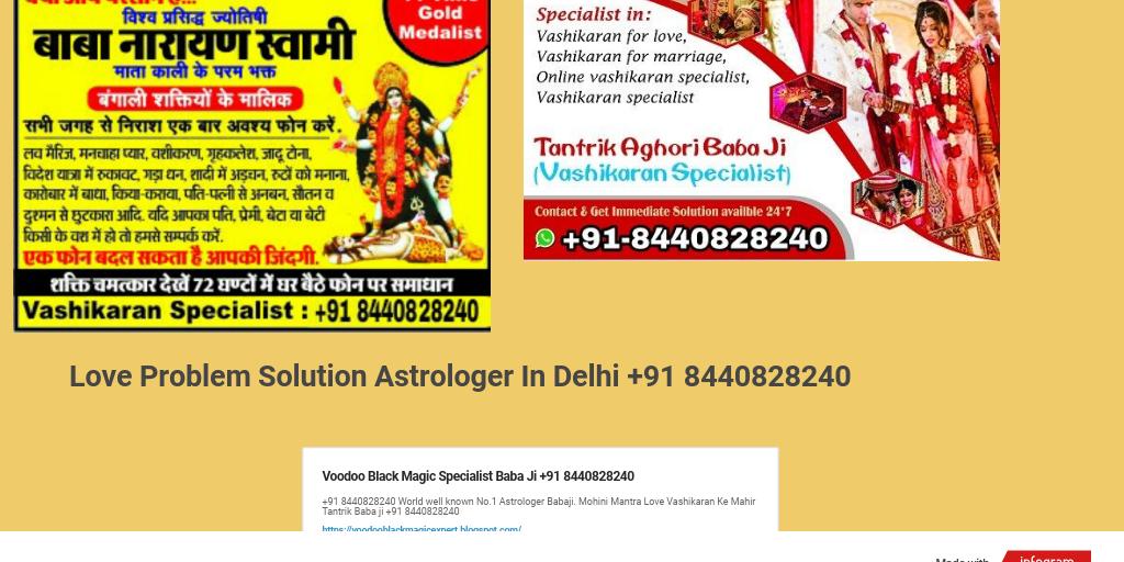love problem solution astrologer +91 8440828240 gurgaon