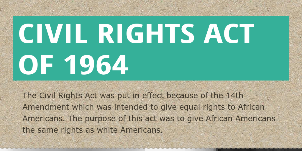Poetry and civil rights act