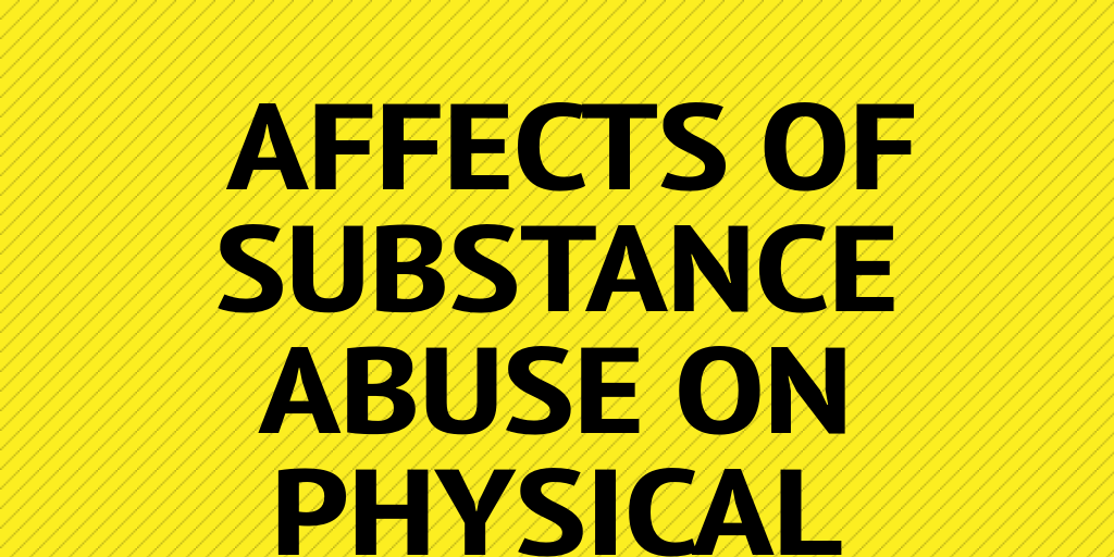 the affects of substance abuse on Learn about substance abuse addiction causes, withdrawals, side effects, warning signs & symptoms of substance abuse options behavioral health.