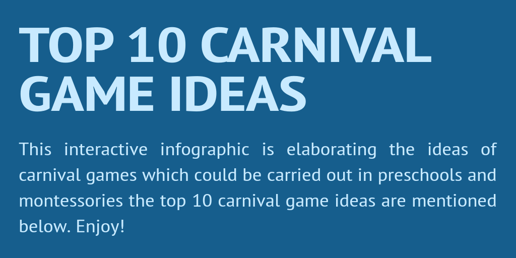 Top 10 Carnival Game Ideas by jayson986 - Infogram