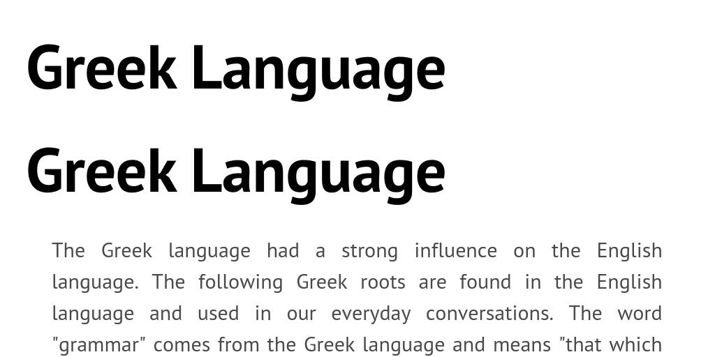 Greek Language by jmd21 - Infogram