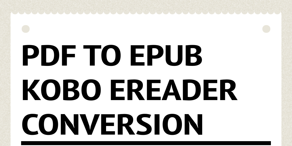 how to add epub to kobo ereader