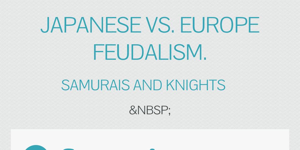 What is feudal Japan?