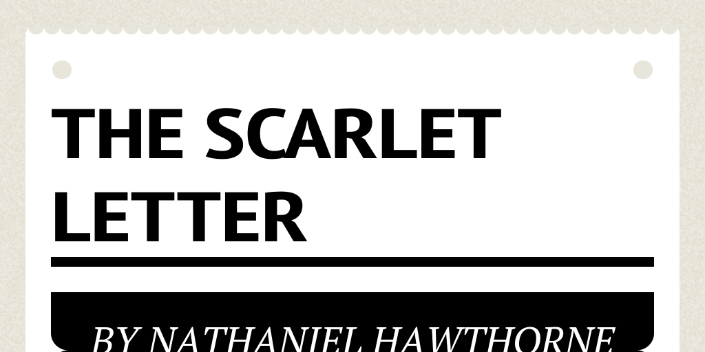 Images Of The Scarlet Letter