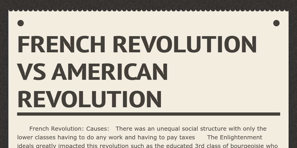 an analysis of the idea of the enlightenment in american and french revolution The american revolution  the american revolution summary & analysis  sophisticated 17th and 18th-century political philosophies of the enlightenment were.
