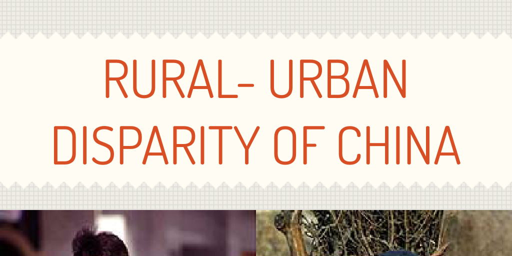 rural urban disparity Gap in life expectancy between rural and urban the rural-urban gap widening from 04 the last 20 years and yet rural and urban disparities haven't.
